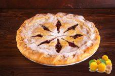 Фирменный пирог с абрикосом и орехом
